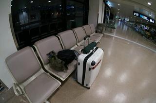 上海浦東国際空港で一泊