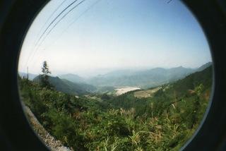 2009年の中国旅行、重慶にてLomographyのfisheye2で撮影