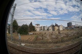 東武東上線の車窓風景