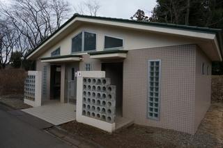 武蔵丘陵森林公園のトイレ