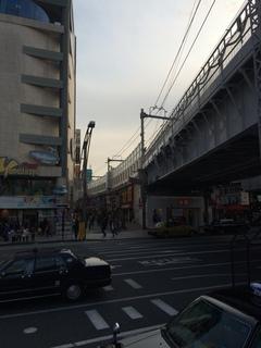 上野駅付近、高架下
