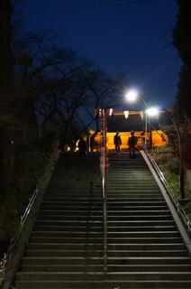 上野の清水観音堂付近