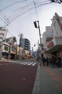 東武東上線下赤塚駅の道