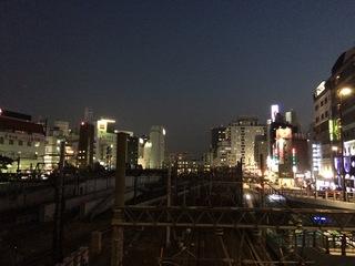池袋の夜景