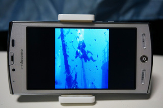 docomoのAQUOS PHONE SH-12CでYoutube上の3D動画を視聴
