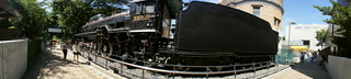 上野の国立科学博物館の大アマゾン展観覧@SL機関車