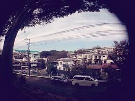 板橋区上板橋、前野町あたりの風景