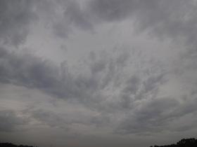 DSC-QX10で森林公園付近の空をテスト撮影