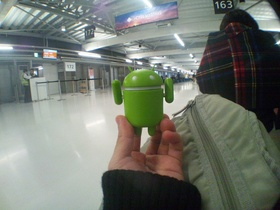 成田空港第三ターミナルの出発ロビー