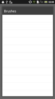 Android 2.3、2.x系ではメニュー内のメニュー、つまりサブメニューが背景・文字色共に白で見えない