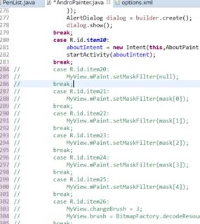 Androidの2.3、2.xでハードウェアキーでサブメニューを表示させない