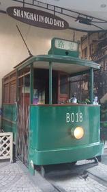 人民広場地下の列車