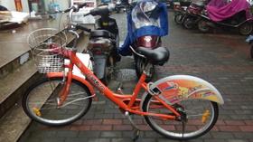 毎日乗っているレンタル自転車