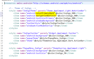 Support Library v7、Theme.AppCompat.Light.NoActionBar、ToolBar、ThemeOverLay.AppCompat.Lightの属性変更